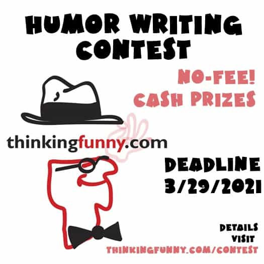 ThinkingFunny21 Writing Contest artwork
